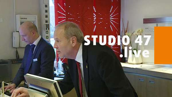 News video: STUDIO 47 .live | RAINER BISCHOFF ALS PRAKTIKANT IM HOTEL MERCURE
