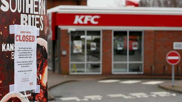 News video: Kentucky Fried Chicken gehen die Hühnchen aus