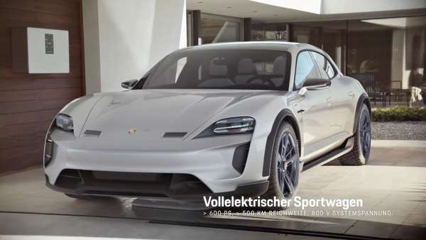 Video: Konzeptstudie Porsche Mission E Cross Turismo