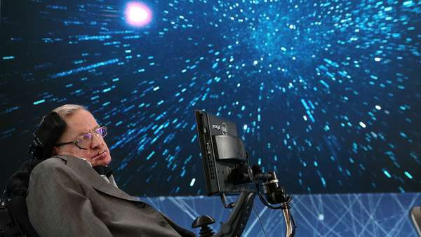 News video: Das Universum trauert: Astro-Legende Stephen Hawking ist tot