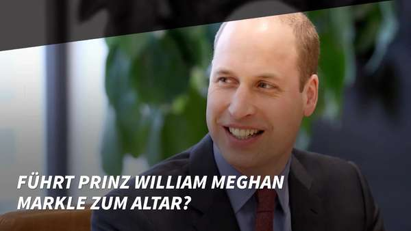 News video: Führt Prinz William Meghan Markle zum Altar?