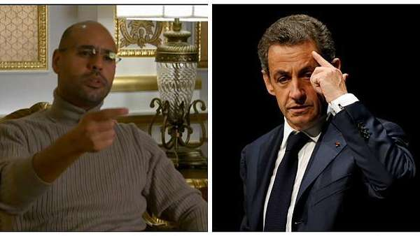 News video: Fall Sarkozy: Gaddafi-Sohn hat