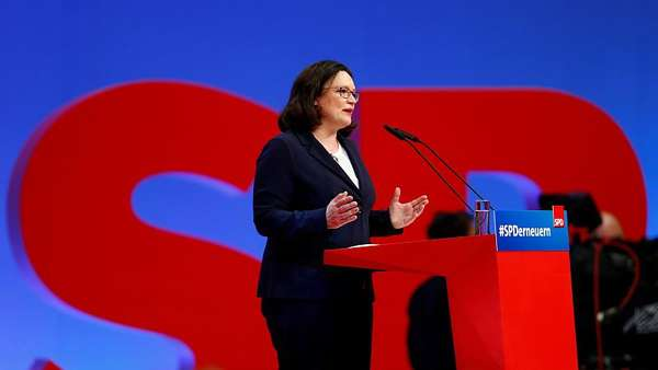 News video: Andrea Nahles: Machtbewusst, taff, polarisierend