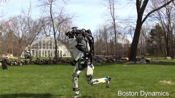 News video: Boston Dynamics: Video zeigt rennende und selbstnavigierende Roboter