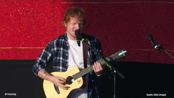 News video: Ed Sheeran - Panikforscher warnt vor Konzert