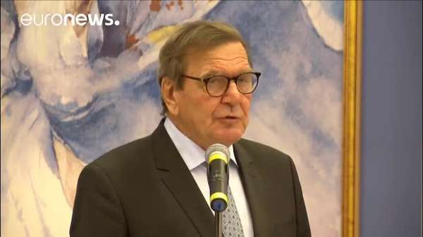 Video: Nord Stream 2: Schröder kritisiert Kritik an Pipeline