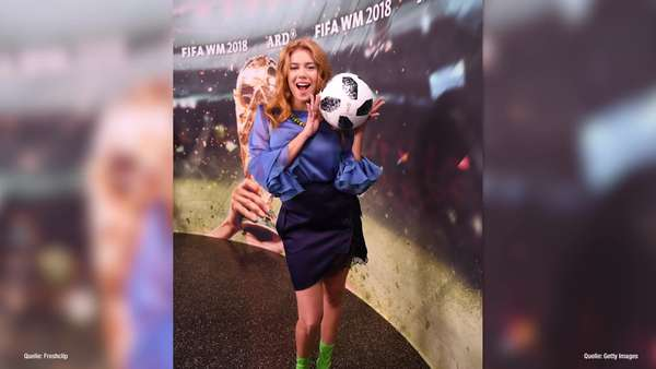News video: Palina Rojinski: - Kein guter WM-Start