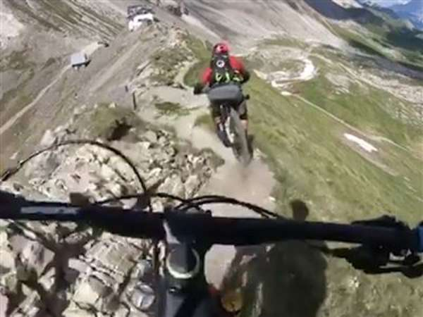 News video: Mountainbike Extreme: Rasant in die Tiefe