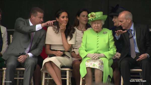 News video: Meghan Markle: Neues - Zuhause dank Queen und Co.!