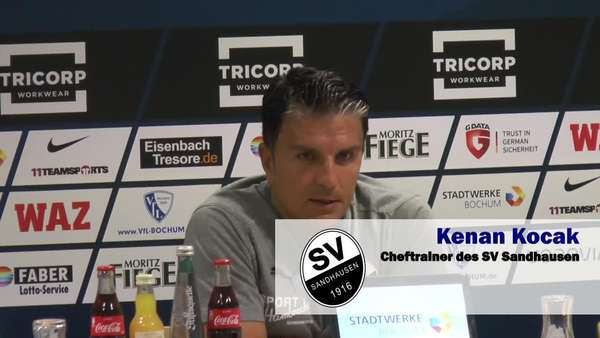 News video: VFL Coach Robin Dutt lobt Bochums Ostkurve und Block A