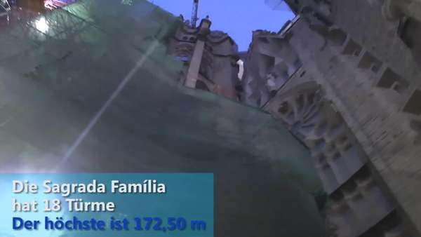 News video: Sagrada Família - Sightseeing Hotspot in Bracelona