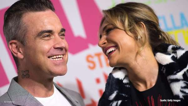 News video: Robbie Williams erneut - Vater geworden!