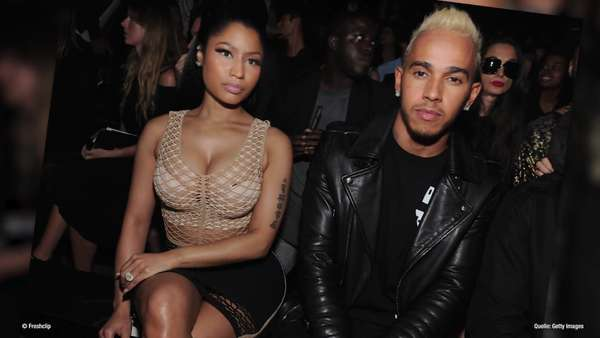 News video: Nicki Minaj & Lewis Hamilton: Gemeinsam in Dubai!