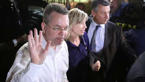 News video: US-Pastor Brunson hat Türkei verlassen
