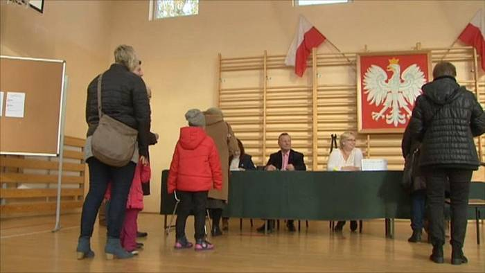 News video: 2. Wahlrunde in Polen: Stichwahl in Krakau und Danzig