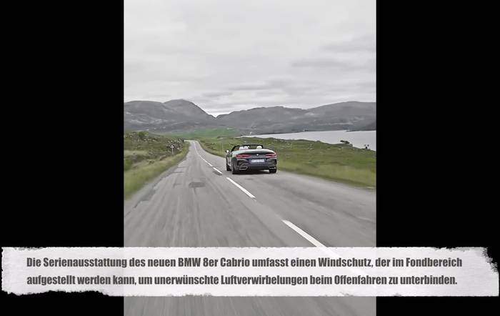 News video: Das neue BMW 8er Cabriolet Trailer