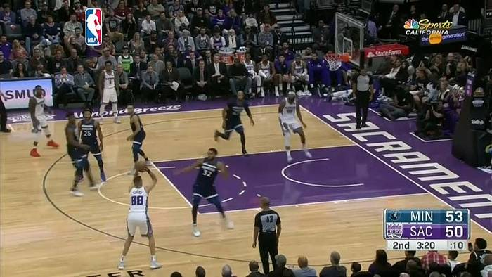 News video: NBA: Sacramento Kings bezwingen Minnesota mit 121:110