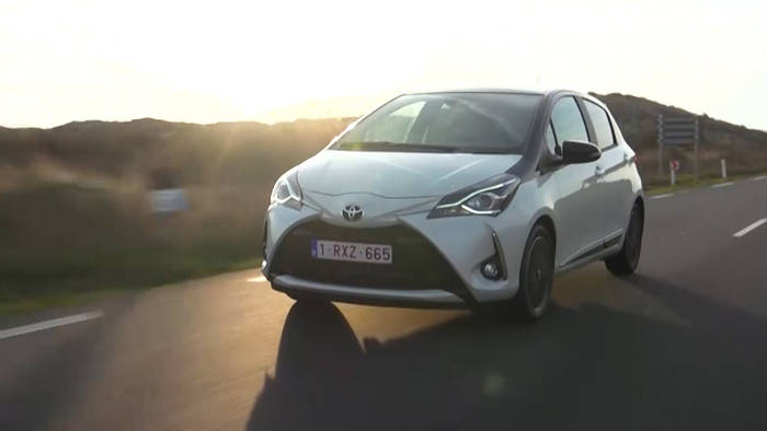 News video: 900 neue Teile im Update des Yaris.
