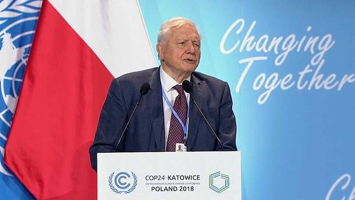 News video: Weltklimakonferenz: Naturforscher Sir David Attenborough findet deutliche Worte
