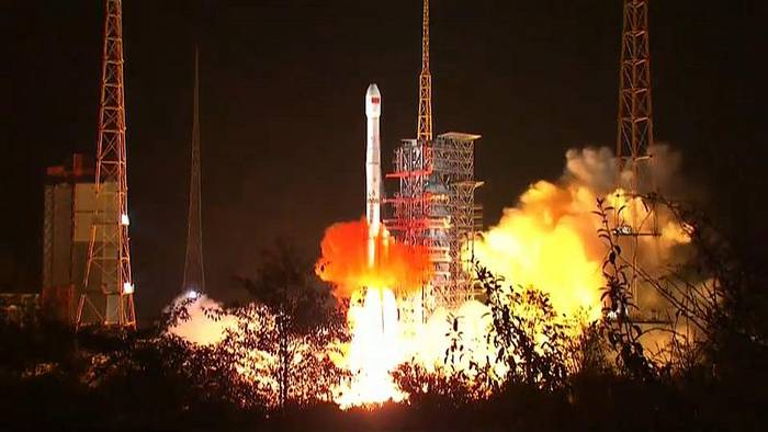 News video: China: Mondsonde gestartet
