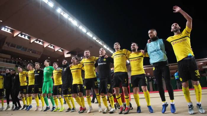 News video: Champions League: Dortmund als Gruppenerster im Achtelfinale