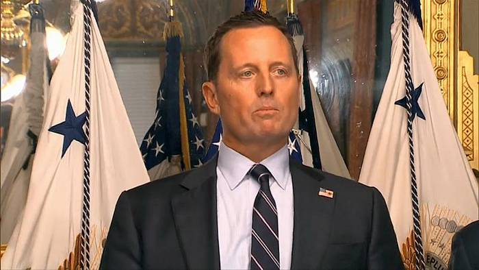 News video: Grenell warnt Unternehmen vor Nord Stream 2