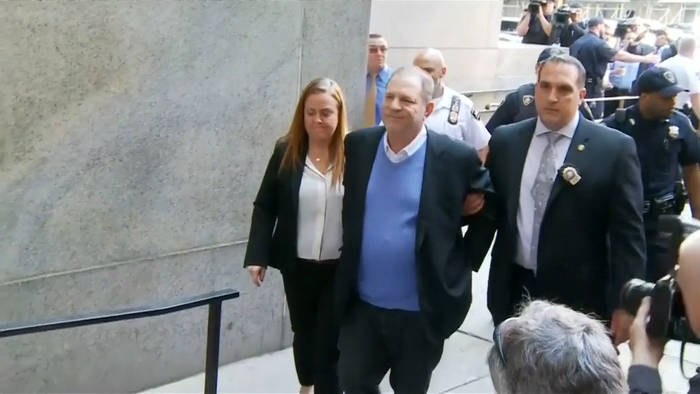 News video: Harvey Weinstein und Anwalt trennen sich
