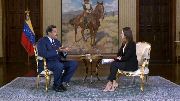 News video: Maduro im Interview mit euronews:
