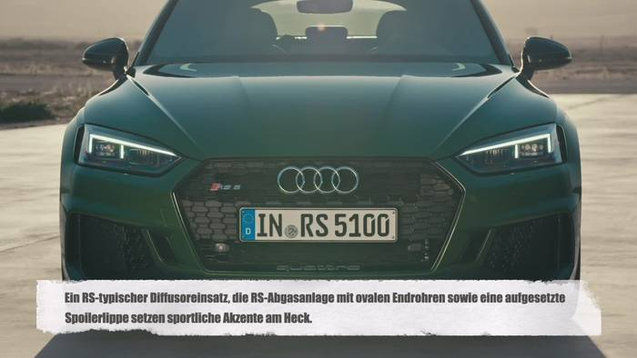 News video: Der Audi RS 5 Sportback Design