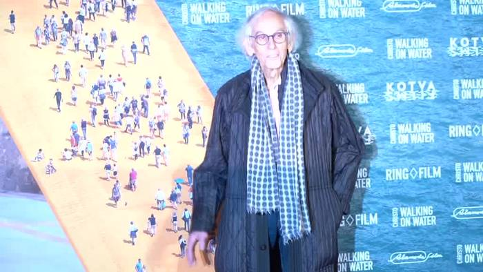 Video: Christo bei Filmpremiere in Berlin