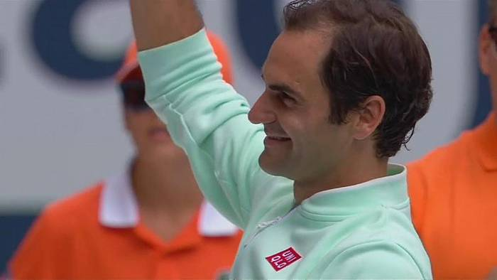 Video: Roger Federer gewinnt in Miami
