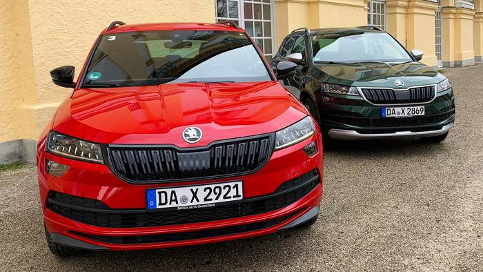 News video: SUV-Vergleich: Skoda Karoq Sportline vs. Karoq Scout
