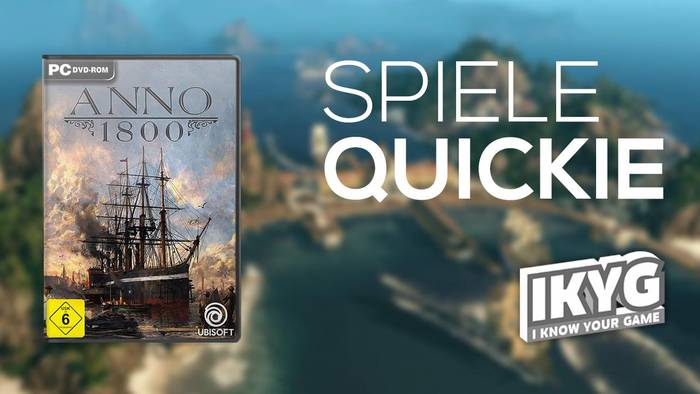 News video: Anno 1800 - Spiele-Quickie