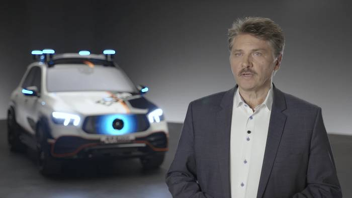 Video: Mercedes-Benz ESF 2019 - Interview Prof. Dr.-Ing. Rodolf Schöneburg
