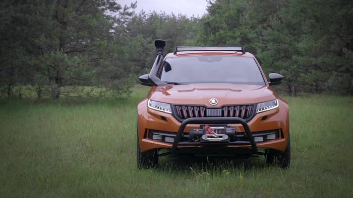 News video: Skoda MOUNTIAQ Design Vorschau