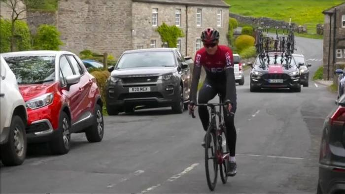 News video: Nach schwerem Unfall: Chris Froome verpasst ''Tour de France''