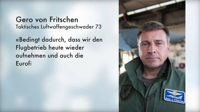 News video: Nach Eurofighter-Absturz fliegt Geschwader in Laage wieder