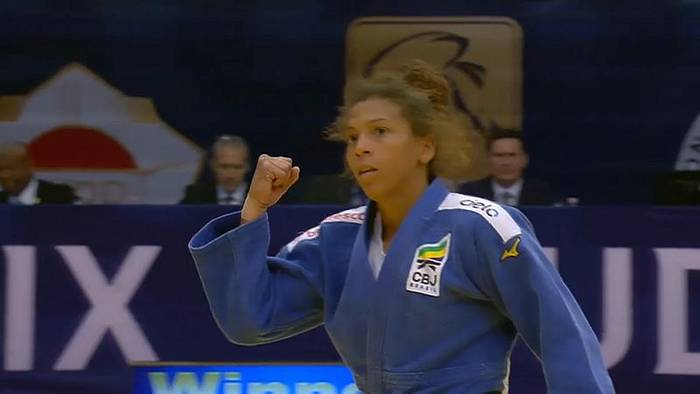 News video: Judo Grand Prix Budapest 2019 - Gold für Rafaela Silva