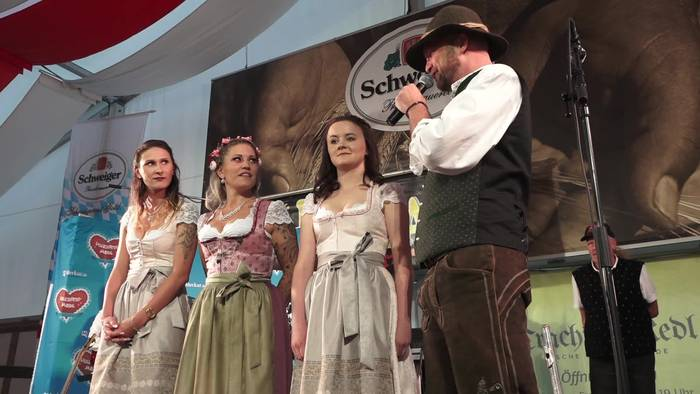 News video: Volksfest-Madl Poing 2019: Finale