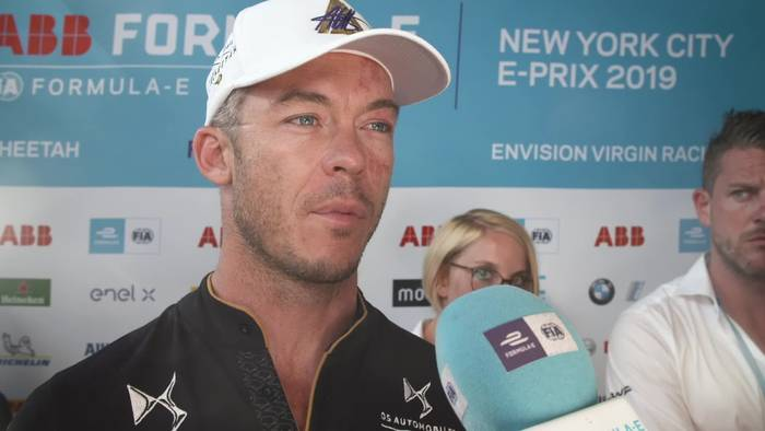 Video: Formula E in New York City - Andre Lotterer Reaction