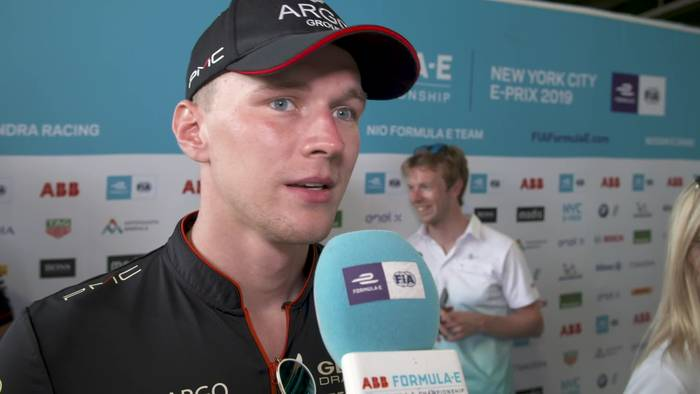 Video: Formula E in New York City - Max Gunther - Reaction