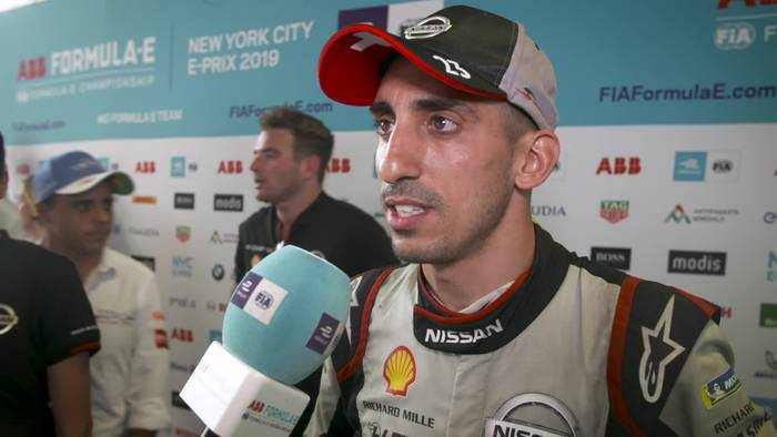 Video: Formula E in New York City - Sebastien Buemi Reaction