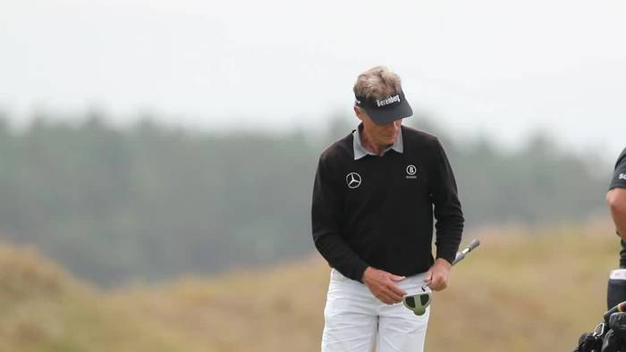 Video: Mit Legende Langer: Auftakt für Senior Golf Open in Vorbeck