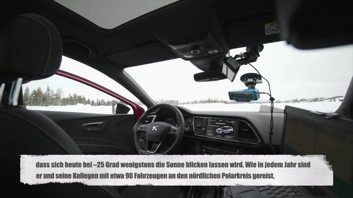 Video: Seat - Ingenieure im ewigen Eis