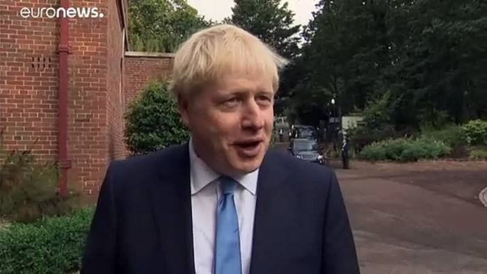 Video: Backstop und andere Probleme: Boris Johnson besucht Nordirland
