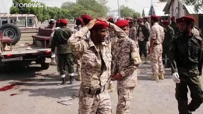 News video: Mindestens 32 Tote bei Angriff auf Militärparade in Jemen