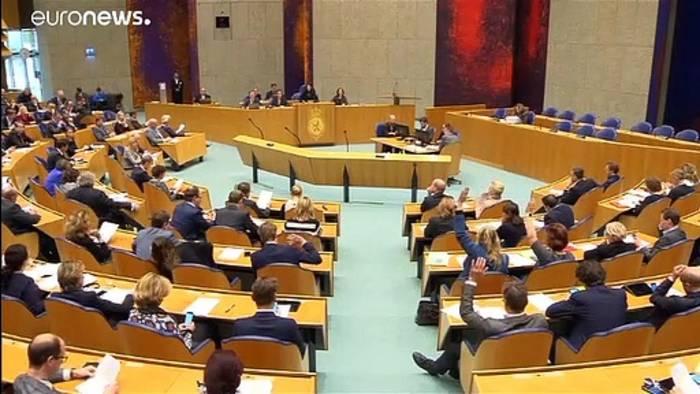 News video: Ab sofort: Burka-Verbot in den Niederlanden