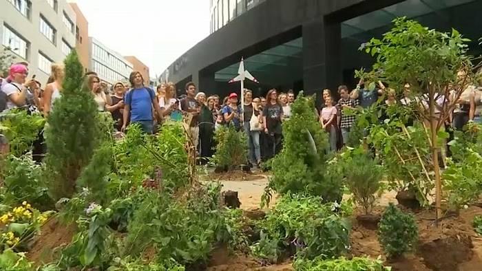 Video: Keine Ferien für Klimakämpfer: Fridays for Future in Dortmund