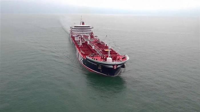 Video: Iran setzt noch ein Schiff fest - angeblich Ölschmuggler
