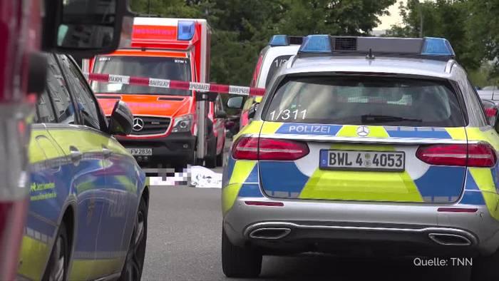 Video: Schwert-Attacke in Stuttgart: Motiv war persönlich